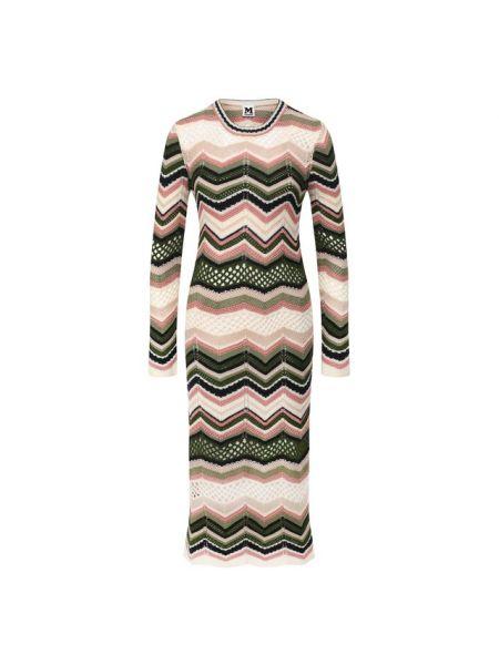 Платье миди с рукавами с вырезом M Missoni