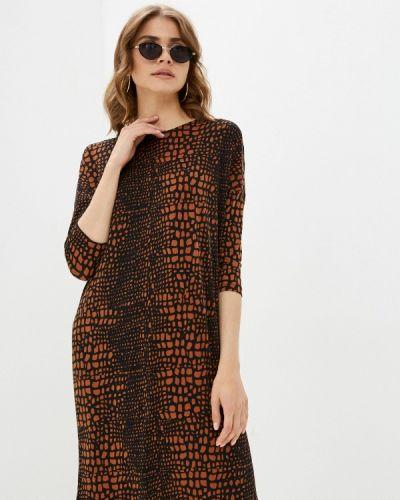 Коричневое платье W.sharvel