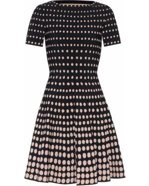 Платье мини вязаное бежевое Alaïa