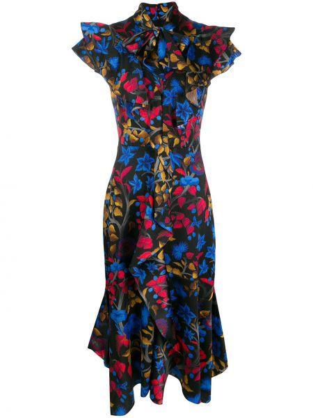Платье приталенное длинное Peter Pilotto