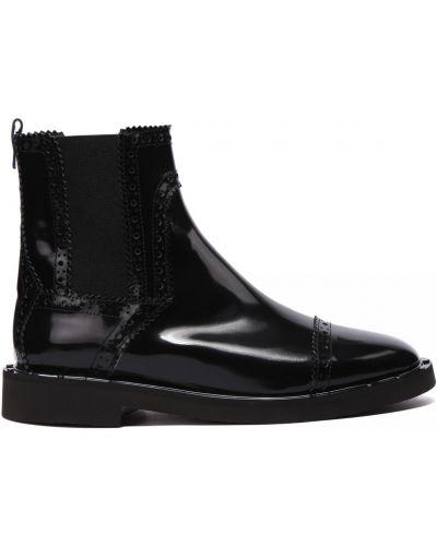 Кожаные ботинки круглые закрытые Principe Di Bologna