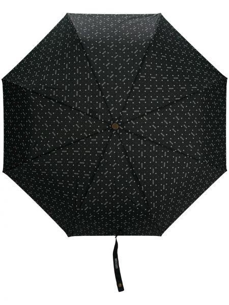 Parasol - czarny Moschino