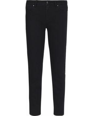 Укороченные брюки - черные Paul&shark