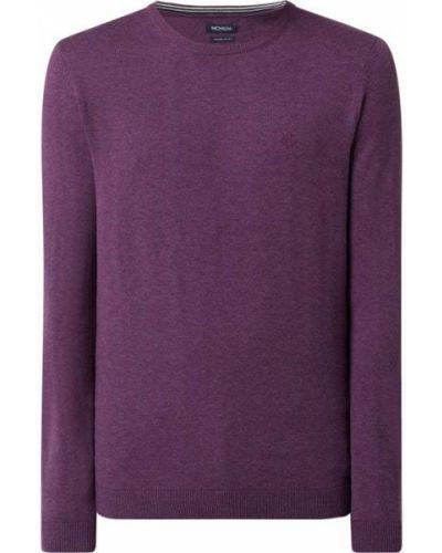 Fioletowy sweter bawełniany Mcneal