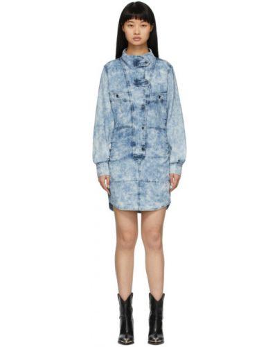 Джинсовое платье макси на пуговицах Isabel Marant Etoile