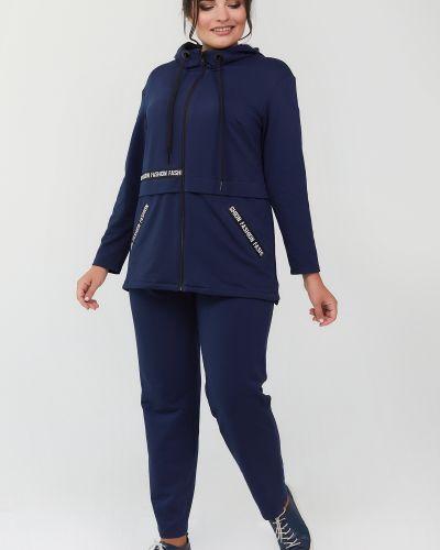 Трикотажный костюм - синий All Posa