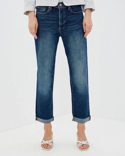 Прямые джинсы синие Banana Republic