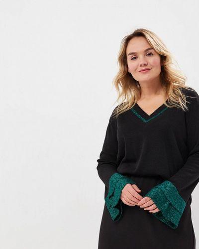 Черный пуловер Sophia