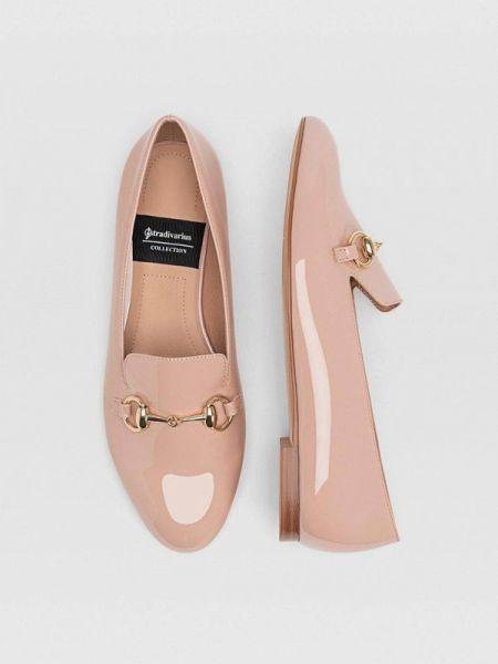 Туфли розовый осенние Stradivarius