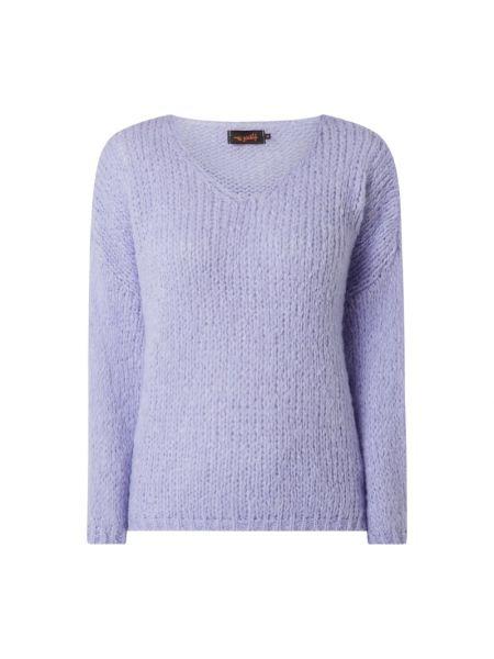 Sweter wełniany - fioletowy Miss Goodlife