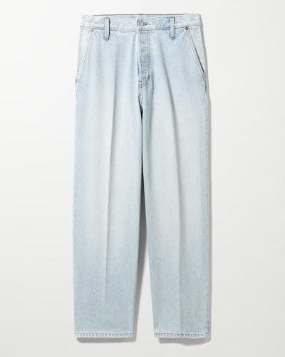 Синие джинсовые джинсы Weekday
