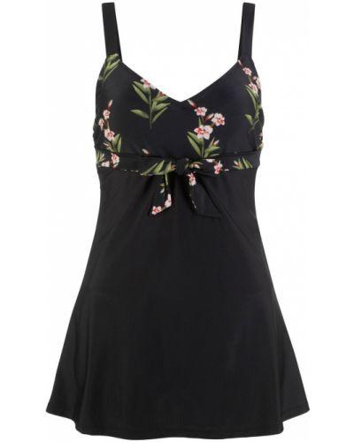 Платье купальное на резинке Bonprix