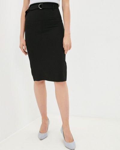 Черная прямая юбка Raya