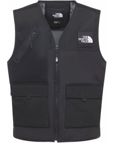 Черная жилетка с карманами со вставками The North Face