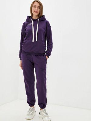 Спортивный фиолетовый спортивный костюм D.s