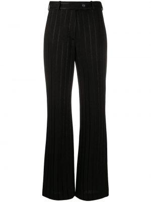 Шелковые брюки - черные Missoni