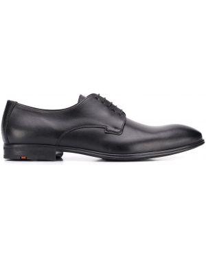 Туфли на шнуровке черные Lloyd