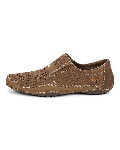 Коричневые туфли Rieker