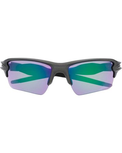 Солнцезащитные очки металлические - серые Oakley