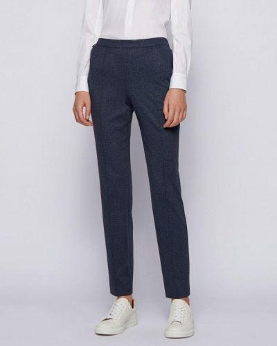 Повседневные синие брюки Boss