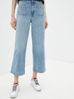Расклешенные широкие джинсы Banana Republic