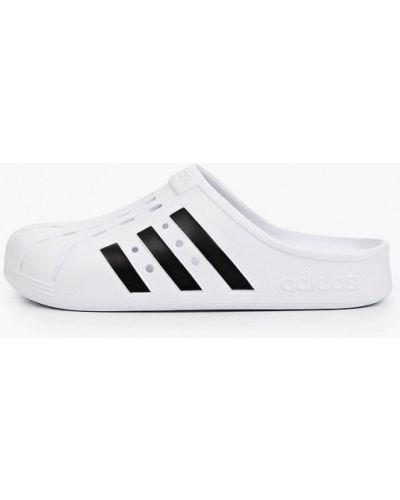 Белые сабо Adidas