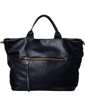 Кожаная сумка - черная Gianni Chiarini
