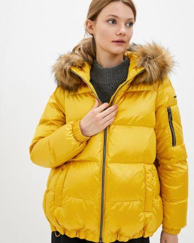 Утепленная куртка - желтая Geox