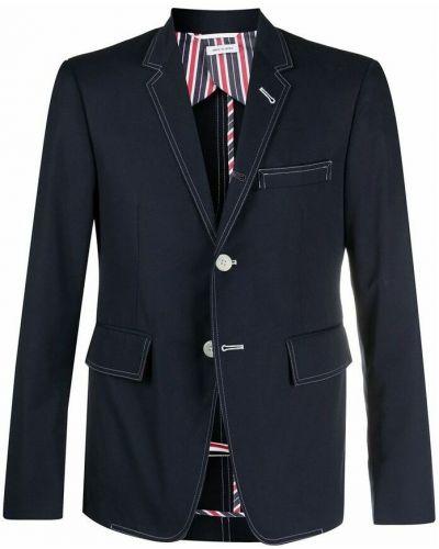 Niebieska kurtka Thom Browne