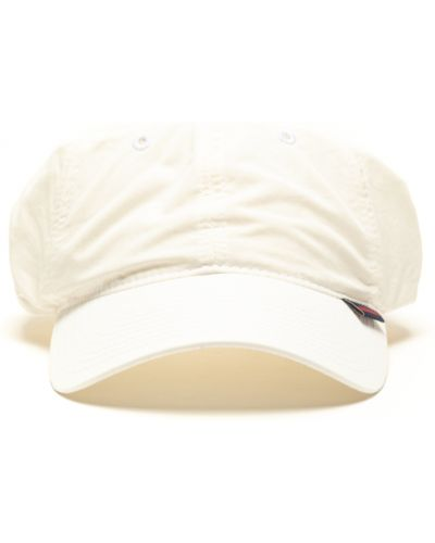 Biały kapelusz Sebago