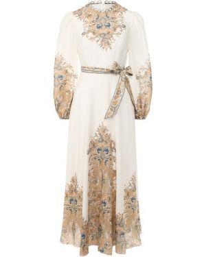 Платье льняное Zimmermann
