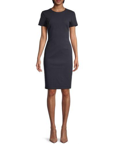 Платье-футляр с короткими рукавами с подкладкой Boss Hugo Boss
