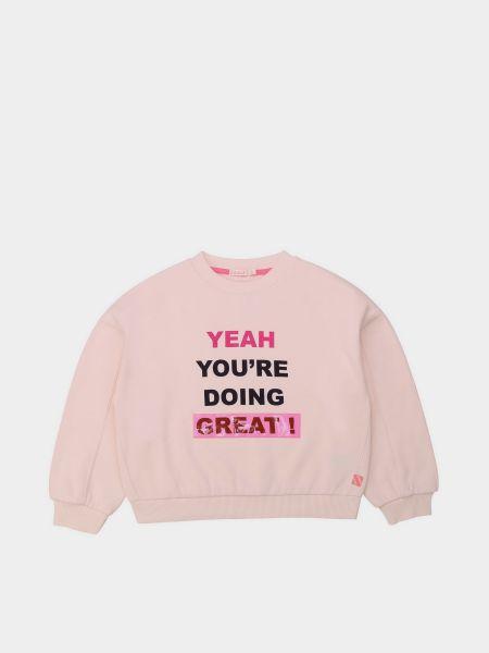 Хлопковый свитшот - розовый Billieblush