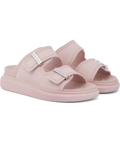 Klasyczne różowe sandały Alexander Mcqueen