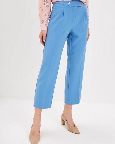 Голубые брюки повседневные Zarina
