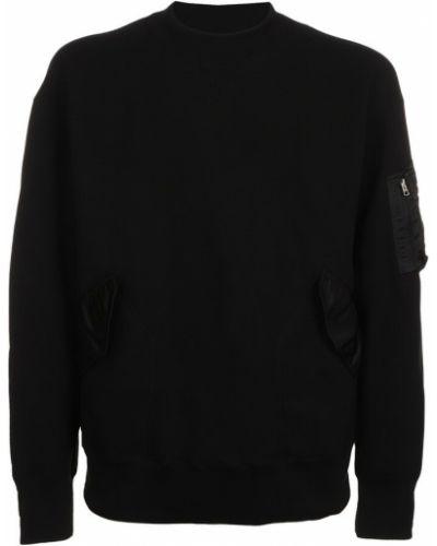 Czarna bluza dresowa Sacai