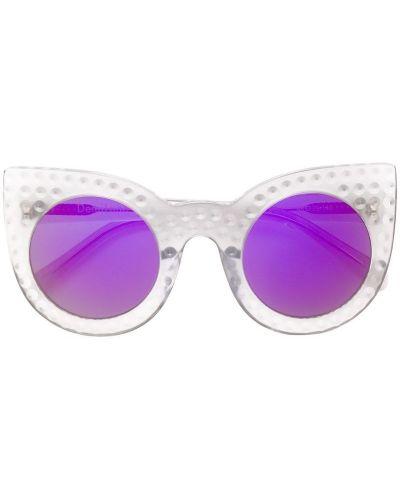Солнцезащитные очки серые хаки Delalle