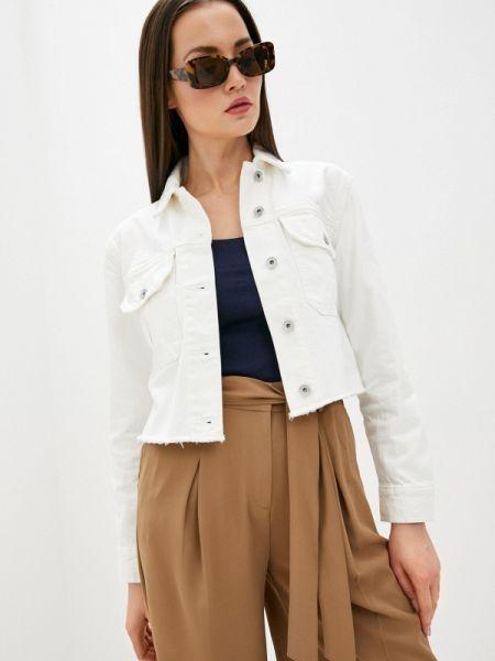 Белая джинсовая куртка Marks & Spencer