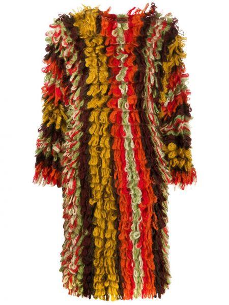 Ажурное платье из мохера с кисточками с вырезом Missoni Pre-owned