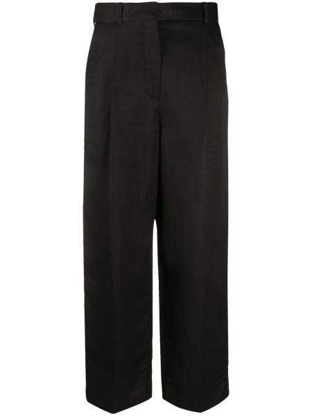 Укороченные брюки брюки-хулиганы дудочки Sandro Paris