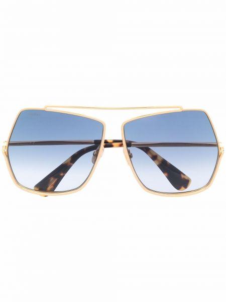 Солнцезащитные очки металлические Max Mara