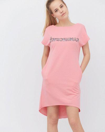 Вязаное платье весеннее Прованс
