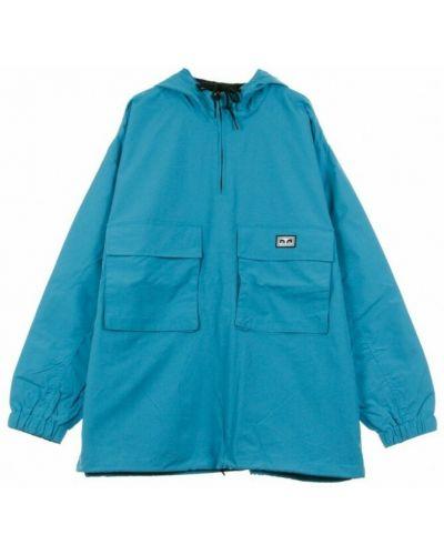 Niebieska kurtka Obey