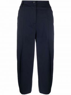 Синие хлопковые брюки Alessia Santi