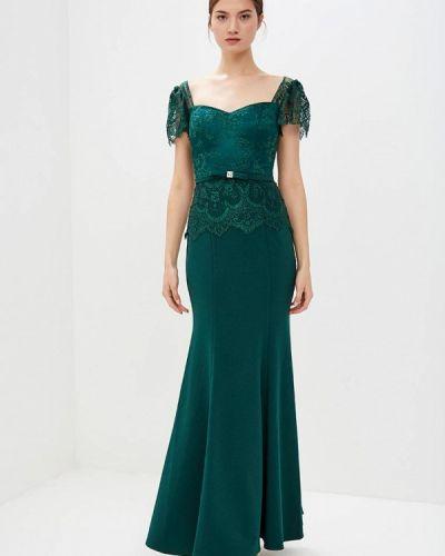 Вечернее платье зеленый X'zotic