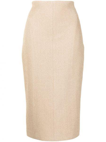 Хлопковая юбка миди Manning Cartell