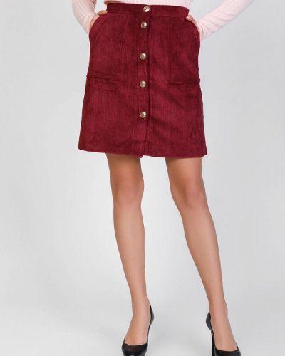 Красная юбка свободного кроя Magnet