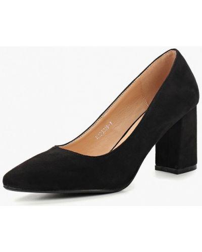 Туфли на каблуке замшевые осенние Tulipano