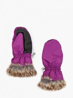 Фиолетовые варежки Hofler