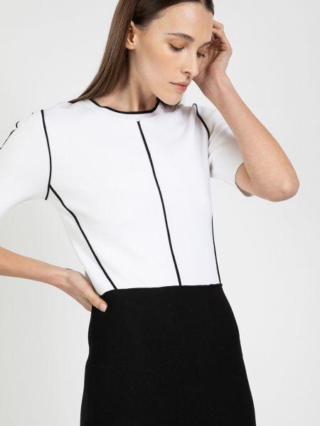 Платье с рукавами нейлоновое Vassa&co